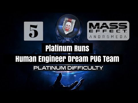 Mass Effect Andromeda Multiplayer - Platinum Run with Human Engineer