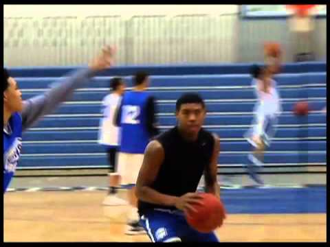 Young Hopkins boys basketball team improving