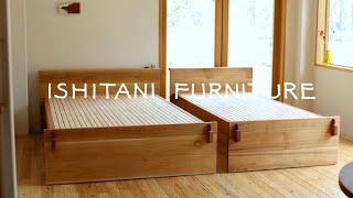 ISHITANI - Making Japanese Futon Bed - Tusk Tenon Joint