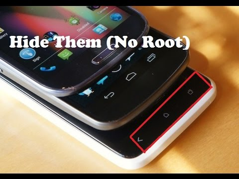 How to Hide Onscreen Navigation Buttons On Android Device (No Root)
