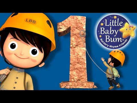 Numbers Song | Number 1 | Nursery Rhymes | Original Song By LittleBabyBum!