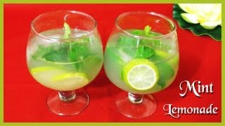 Mint Lemonade Summer Drink -  Summer Treats & Beverages