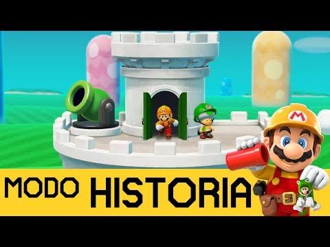 CAÑONES QUE NO HACEN LO QUE PENSABA 😲 - MODO HISTORIA #4 | SUPER MARIO MAKER 2 (Switch) - ZetaSSJ