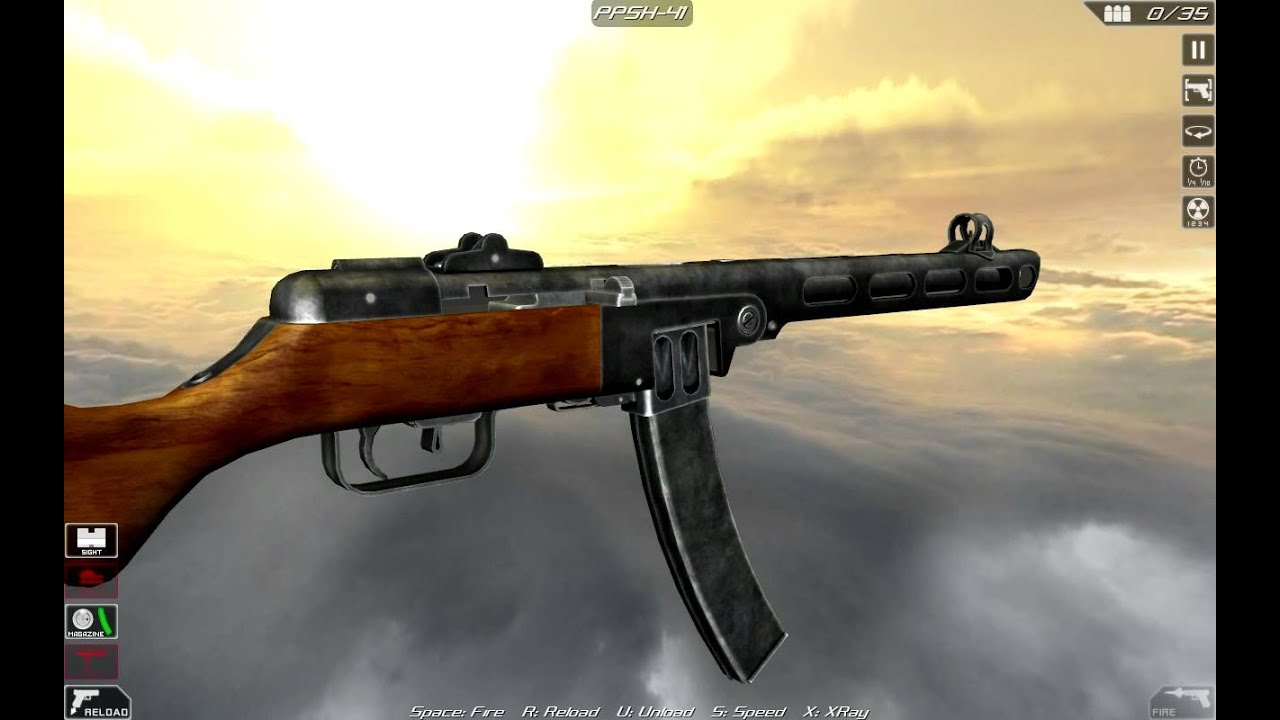 PPSh-41 machine: device and specifications 60