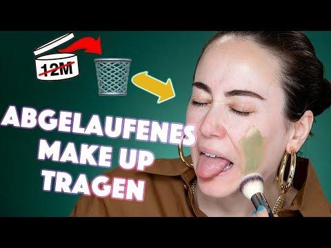Ich schminke mich mit abgelaufenem Makeup 🤢🤮 Verfallsdatum lange überschritten 😳 Hatice Schmidt