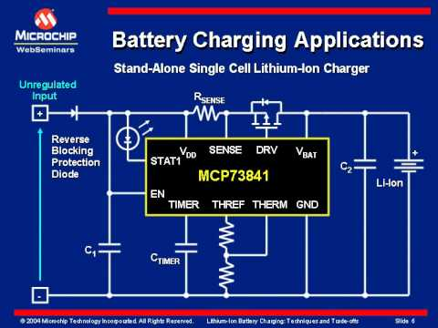 Stand-alone Single Cell Lithium-Ion Battery Charger
