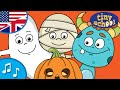 Halloween Monster Finger Family Song | Nursery Rhymes & Songs For Children - Nursery Rhyme & Song f