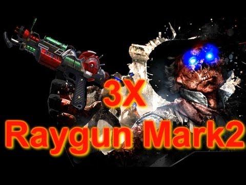 "NEU ""Ray Gun Mark 2"" 3X Pack-A-Punch! - Black Ops 2 Zombies Gameplay! (Porter's Mark 2 Ray Waffe)"