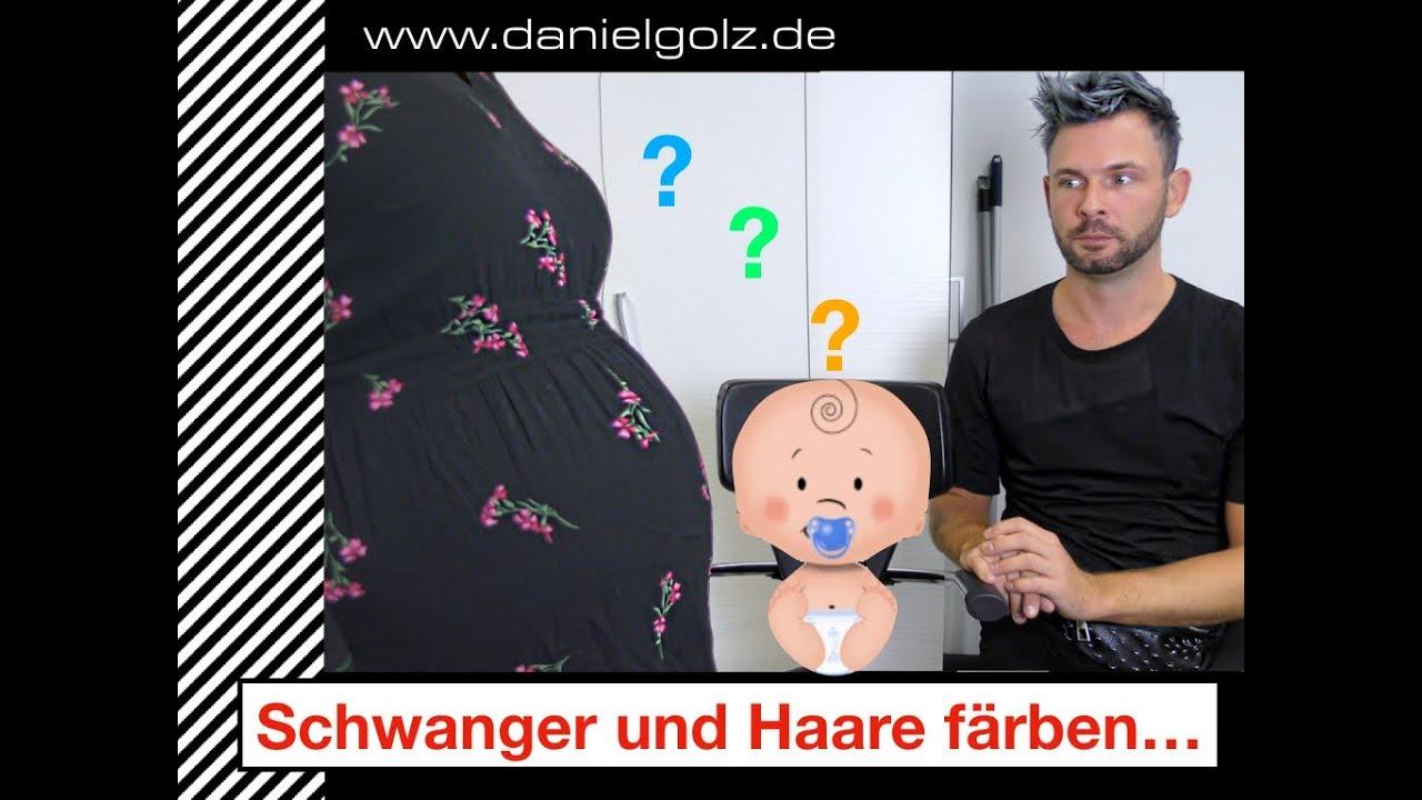 In Der Schwangerschaft Haare Färben Youtube