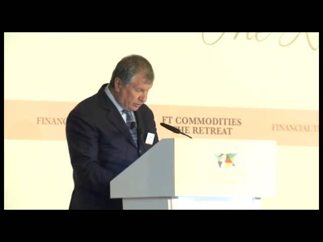 Игорь Сечин выступил с докладом на конференции в Сингапуре
