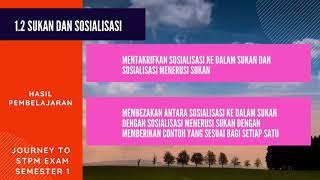 1.2 Sukan dan Sosialisasi
