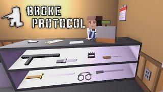Broke Protocol - GTA V Meets Unturned! - Let's Play Broke Protocol Gameplay - Alpha Demo