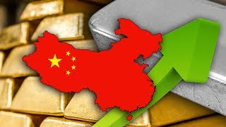 Gold & Silver Edge Up On Poor Economic Data From China