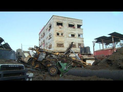 Israeli bombs Gaza Strip, hits a workshop