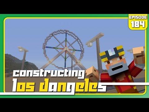 Minecraft Xbox 360: Constructing Los Dangeles - Episode 184! (Ferris Wheel!)