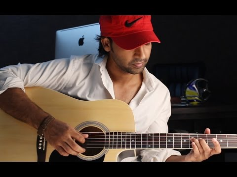 Aadat - Atif Aslam - Guitar Lesson in Hindi for Beginners By VEER KUMAR