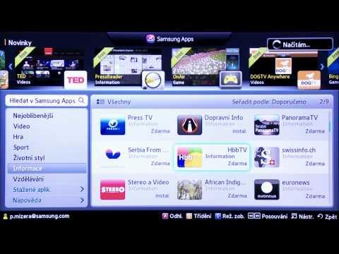 079cc3d3f Samsung Smart TV - Videoprůvodce - Aktivace HbbTV - YouTube