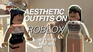 Aesthetic Outfits On Roblox By Rxihanna