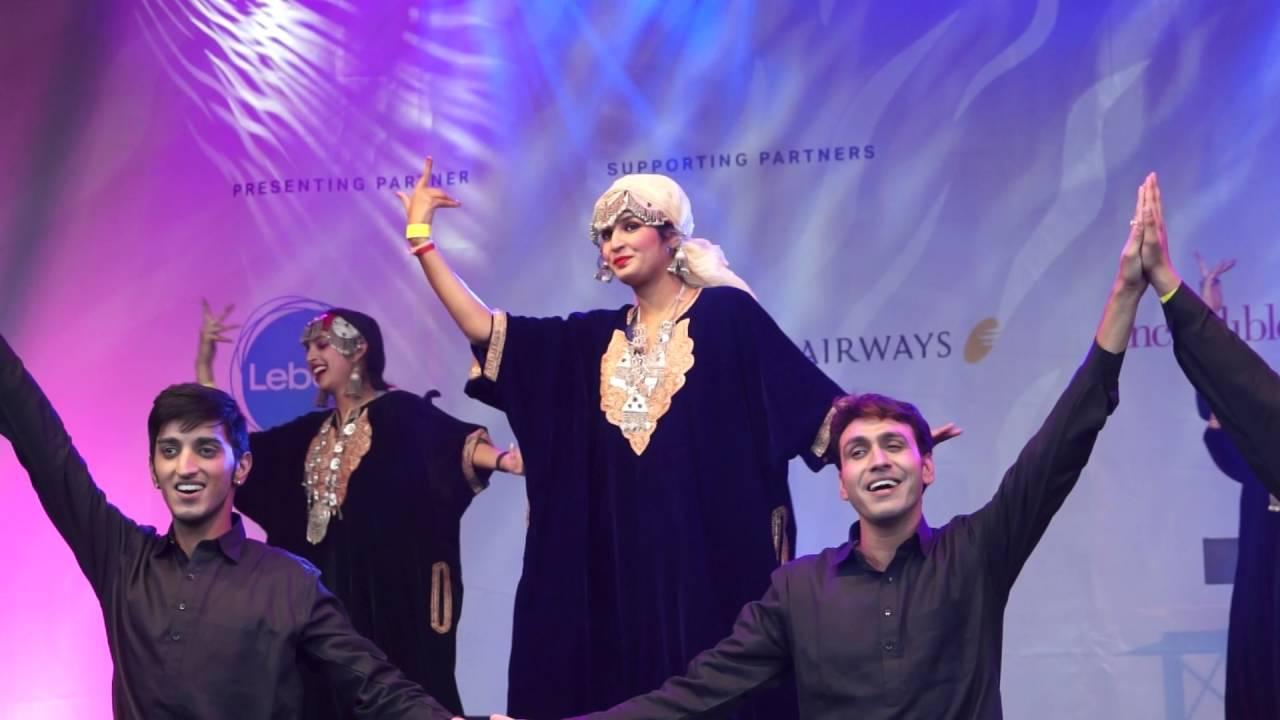 Amazing Jammu Kashmir Folk Dance In London - Bumro Bumro -7677