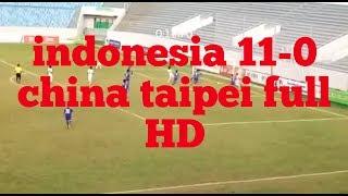 Download Video Indonesia vs China Taipei 11-0 MP3 3GP MP4