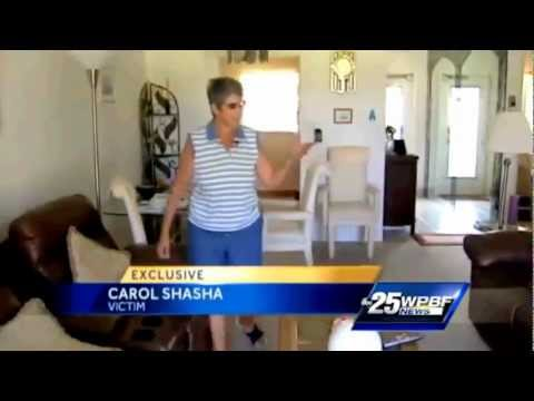 Break-In at the Home of Carol Shasha of Palm Beach Leisureville