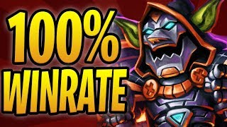 💥100% WIN RATE W/ 💣 BOMB WARRIOR! | Blastmaster Boom Bomberman Warrior | Rise of Shadows Hearthstone