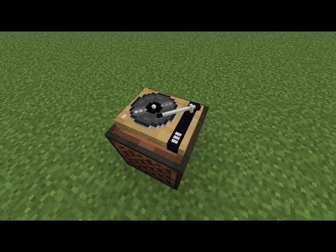 Minecraft Record Player Turntable Resource Pack