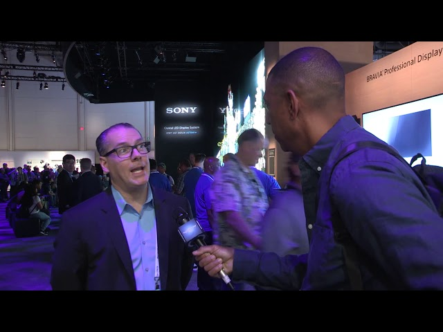 Sony: #NABShow Video Entèvyou