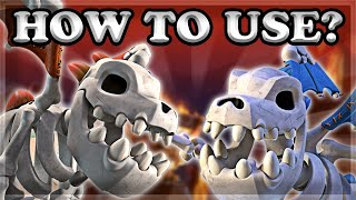How to Use & Counter Skeleton Dragons | Optimal Placements & Strategies🍊