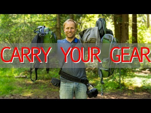 Camera Carry Systems - Straps, Slings, Belts, Bags, Packs, TANGLED!!!
