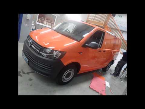 Charles Perrett Property Maintenance & Construction VW T6 Colour Change Wrap