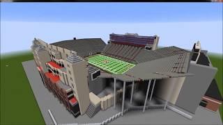 VIEWER SUBMISSION: Memorial Stadium - Nebraska Football - Minecraft Build