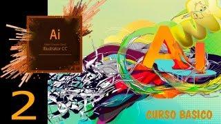 Adobe illustrator CC tutorial, Conociendo la interfaz, Curso Básico Español CS6, Capitulo 2