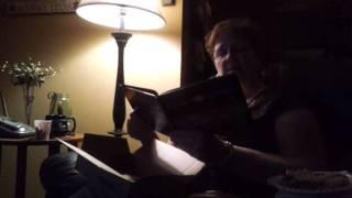 My mom reading Go The Fuck to Sleep