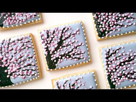 Cherry Blossom Tree Cookies!