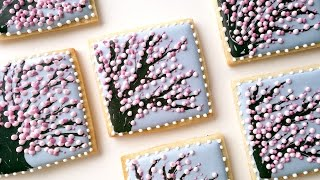 Cherry Blossom Tree Cookies!