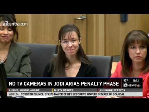 Judge in Jodi Arias Case Orders No TV Cameras in ReTrial & Case To Remain in Phoenix (Nov 14, 2013)