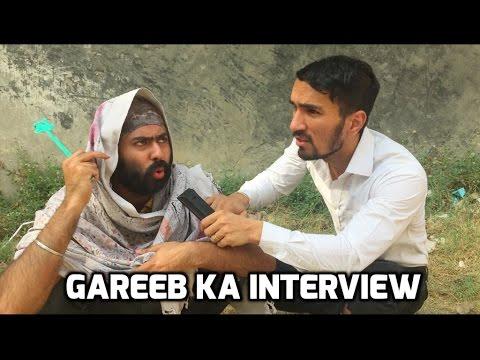Gareeb ka Interview   Funny comedy vine   Harshdeep Ahuja ...