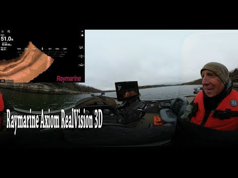 On the water with Raymarine Axiom RealVision 3D sonar featuring Brad Wiegmann