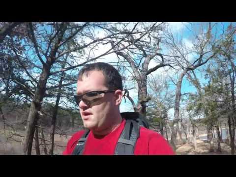 Hiking the Cross Timbers Trail on Lake Texoma