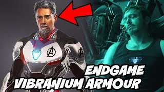 Iron man New Vibranium Suit in Avengers Endgame Confirmed Tony Stark Suit