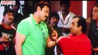 Venkatesh Drinking Comedy With Brahmanandam In Rakhwala Pyar Ka Hindi Movie