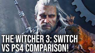 The Witcher 3 Switch Trailer vs PS4 Comparison + Bonus Panzer Dragoon Remake Quick Look!
