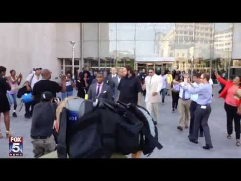 Chris Brown leaves DC Superior Court after pleading guilty to assault