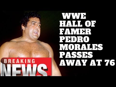 WWE Hall Of Famer Pedro Morales Passes Away At 76 Mp3