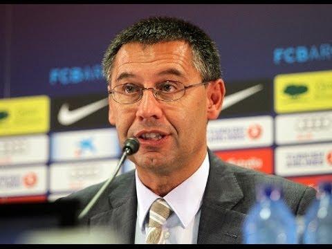 Josep Maria Bartomeu nuevo presidente del FC Barceona Sandro Rosell dimite