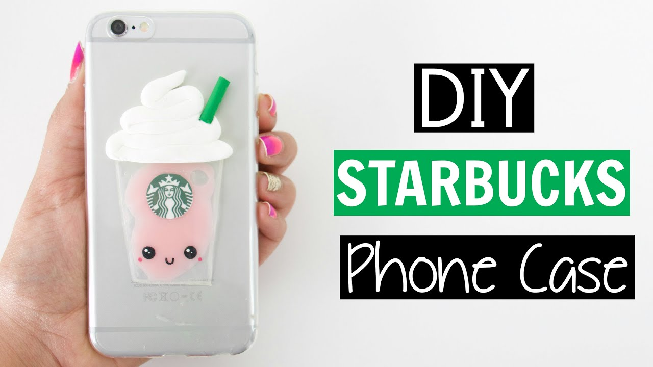 low priced 6192f f32d4 DIY LIQUID STARBUCKS PHONE CASE!