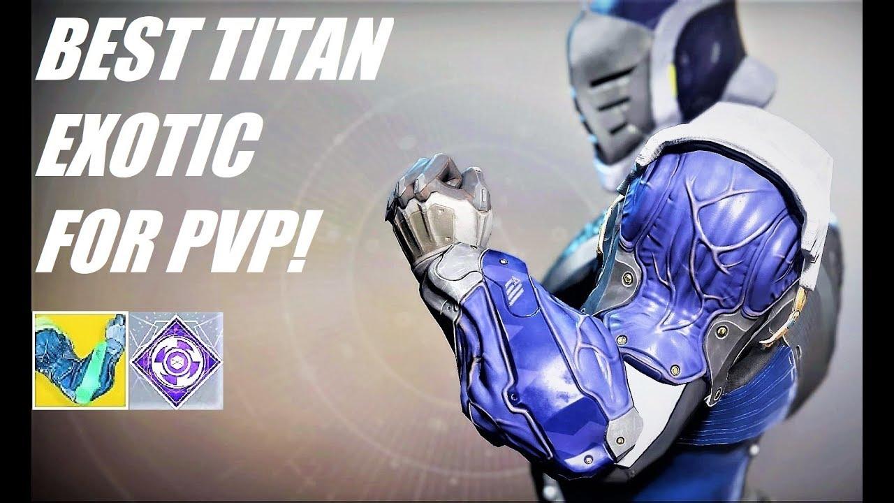 Destiny  Best Titan Build Pvp