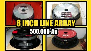 Speaker 8 inch Line array Terbaik untuk sound system lapangan , harga 500 ribuan