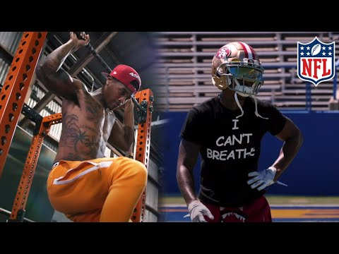 NFL WR Off Season Workout With Kendrick Bourne